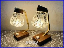 50s Bedside Table Lamp Nightstand Lamp Mid Century Vintage 60s