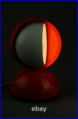 ARTEMIDE Eclisse Lamp VICO MAGISTRETTI Modernist Italian Vintage Panton 60s 70s