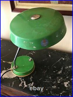 ATOMIC SPACE AGE UFO vintage desk table lamp 60s 70s