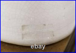 Antique Blanc De Chine Chinese Goddess Quan Yin Figurine Table Lamp 30