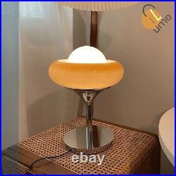 Arancia the Guzzini lamp Bedroom desk Vintage italian egg tart table lamp