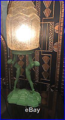 Art Deco Nuart Table Lamp Retro Vintage 30s