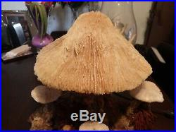 Authentic Vintage Magic Mushroom Coral Lamp