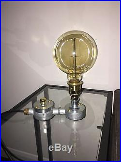 Bespoke Industrial Dimmable Vintage Conduit Lamp. Made to order Read Description