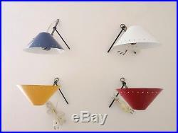 Busquet Hala Zeist Tischlampen Wandlampen 50er Vintage Design table lamp 50s 60s
