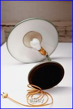 Dazor Mid Century Razor Table Lamp Vintage Flying Saucer Light Vintage Table Lamp