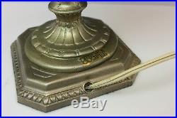 Frederick Cooper, Chicago Mid-Century Modern Vintage Table Lamp Gold Fleck
