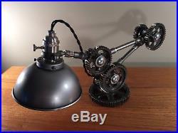 Desk Lamp Machine Gear Task Light