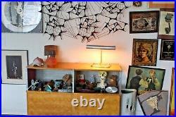 Koch Lowy Vtg Mid Century Modern Chrome Arm Desk Table Task Lamp Light Laurel