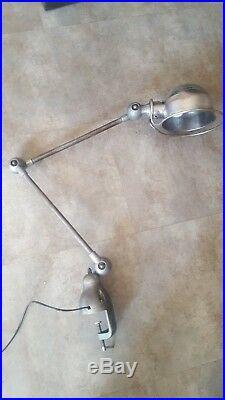 Lamp table desk light arms industrial space age jielde bauhaus articulating vtg