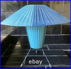 Latex Lamp Shade Vintage Retro Mid-Century Modern 34cm height RARE