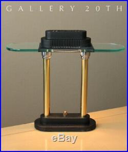 MINTY! MID CENTURY MODERN SONNEMAN DESK LAMP! Dimmer Kovacs Decor Banker's Vtg
