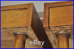 Pair of Vtg American of Martinsville Mid Century Modern Walnut End Lamp Tables