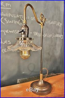Parisian Parlor Lamp Vintage Antique Industrial Desk Task Light