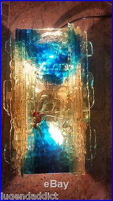 Rare Paire Large Sconces Lamps Raak Chartres A Lankhorst MID Century Vintage