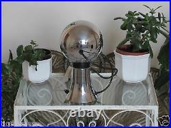 Rare! Vtg 60s 70s MAGNA SPOT Atomic Space Age Eye Ball Magnetic Table Lamp Light