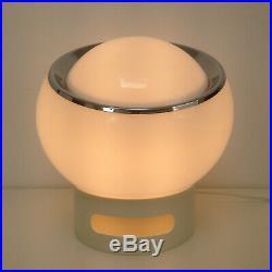 Signed Vintage Mid Century Modern 1960s Harvey Guzzini Italy Clan Table Lamp