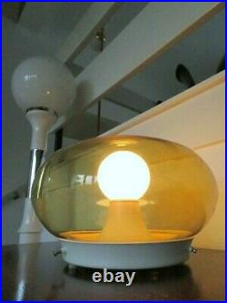 Space Age Mid Century Vintage Retro Sideboard Table Lamp Light Panton Era