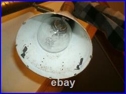 Stiffel Mid Century Modern Design Floor Pole Lamp Teak Brass mcm vintage