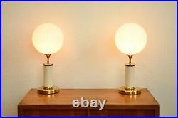 TRUE VINTAGE 90er TISCHLAMPE 90er Stehlampe Messing Josef Busche 90's Table Lamp