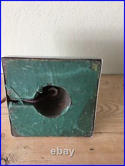 VERY RARE ANTIQUE ART DECO SKYSCRAPER TABLE LAMP, CROME BASE 1930, s
