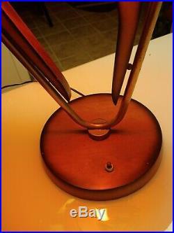 VTG. 1950's MAJESTIC Boomarange Table Lamp