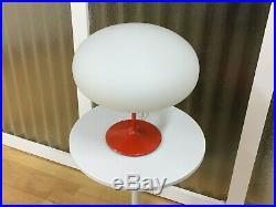 VTG MCM Laurel Style Mushroom Table Lamp 1960s with new globe