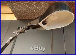 VTG Steampunk Desk Lamp Industrial Articulating Table Task Light REWIRED