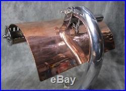 Vintage 1930s MERCOLITE Machine Age Deco Mercury Lamp RESTORED AND CONVERTED
