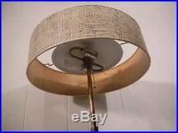 Vintage 1950s table lamp brass marble Stiffel Parzinger Thurston mid century mod