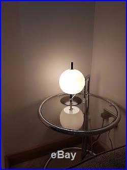 Vintage 1970s Vitra Graeter Z15 table lamp similar style to Guzzini