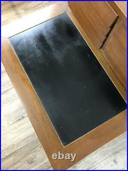Vintage AMERICAN OF MARTINSVILLE Lamp Side Table DANIA Nightstand MID-CENTURY