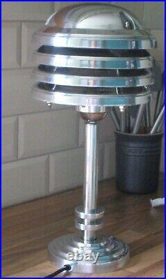 Vintage Art Deco Industrial Style Desk/Table Lamp
