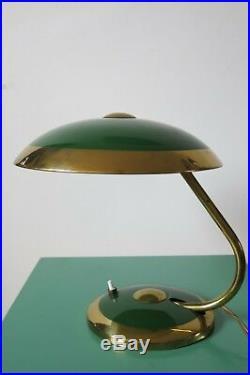 Vintage Art Deco Mid Century Bauhaus Desk/Table Lamp By Helo Leuchten