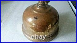 Vintage Brass Table Top Tl Corinthian Tilley Lamp With Onion Globe