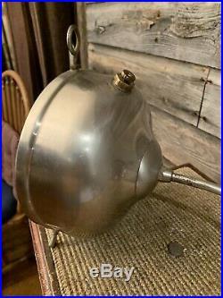 Vintage Coleman Lantern Gas Lamp Wall Mount Table Top Coleman