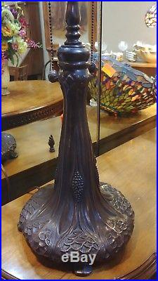 Vintage Dale Tiffany Dragonfly Design Lamp Number 7216 of 12000