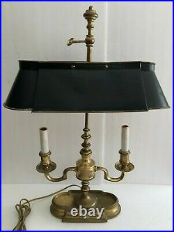 Vintage Frederick Cooper Bouillotte Style. Candlestick Style. Table/ Desk lamp