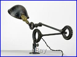 Vintage Germac spring-tension industrial desk lamp, late 1920s or early 1930s