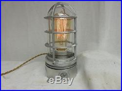 Vintage Industrial Look Explosion Proof Touch Desk Lamp Steampunk Light
