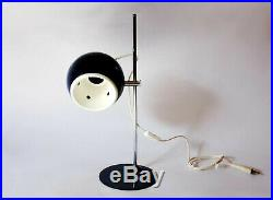 Vintage Italian Lamp Goffredo Reggiani Design Space Age Globe 70s Blue Stilnovo