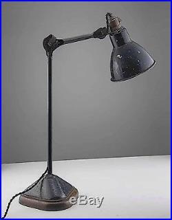 Vintage, Lampe gras, modèle 206, SGDG, Table lamp, Metal, décoration, Design