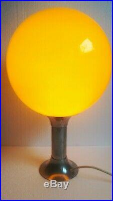 Vintage Large Table Lamp / 70s / Retro Table Lamp /Mushroom Lamp/ Space age Lamp