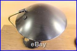 Vintage MID Century Lightolier Table Lamps Pair Gerald Thurston