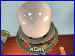 Vintage MID Century Modern Sputnik Danish Lamp Lightolier Gerald Thurston