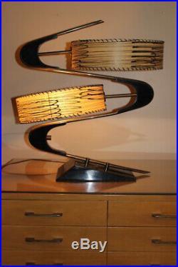 Vintage Majestic Z Lamp Mid-Century Modern 1950's