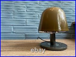 Vintage Meblo Guzzini Kuala Space Age Table Lamp Mid Century Design Mushroom