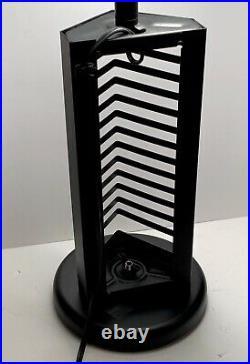 Vintage Memphis Style Lamp 80s Postmodern Kovacs Saucer Ufo Table Rare