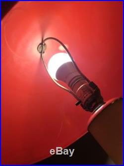 Vintage Memphis Style Plastic Table/desk Lamp (kartell, Columbo, sottsass Era)