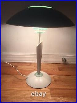 Vintage Mid Century Danish Modern Ufo Flying Saucer 1980s Lamp